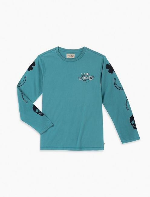44a246863 Lucky Little Boys 5-7 Baja Knit Top