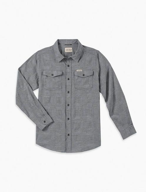LITTLE BOYS 5-7 JUSTIN LONG SLEEVE WOVEN SHIRT,
