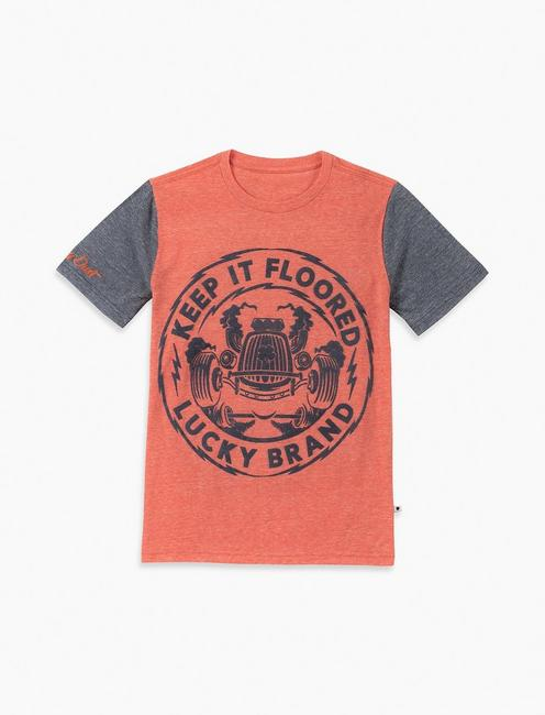 LITTLE BOYS 5-7 KEEP IT FLOORED TEE,