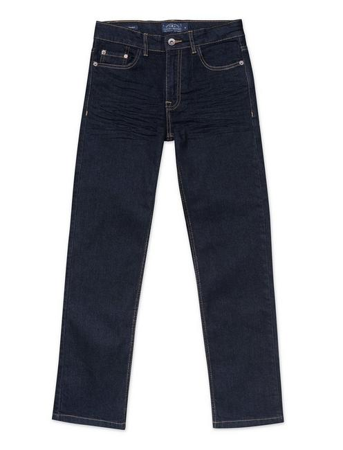 LITTLE BOYS 5-7 CLASSIC STRAIGHT JEAN, NAVY