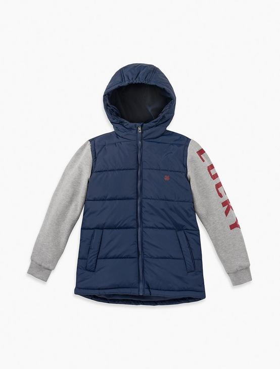 BOYS 5-7 MIWITH MIDWEIGHT POLYFILLX MEDIA JACKET