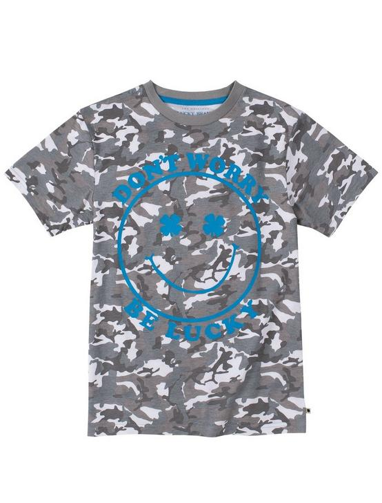 BOYS S-XL CAMO TEE, OXFORD, productTileDesktop