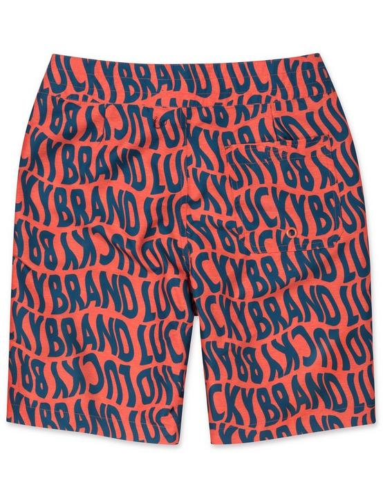 BOYS 8-16 LUCKY PRINT BOARDSHORTS, DARK ORANGE, productTileDesktop