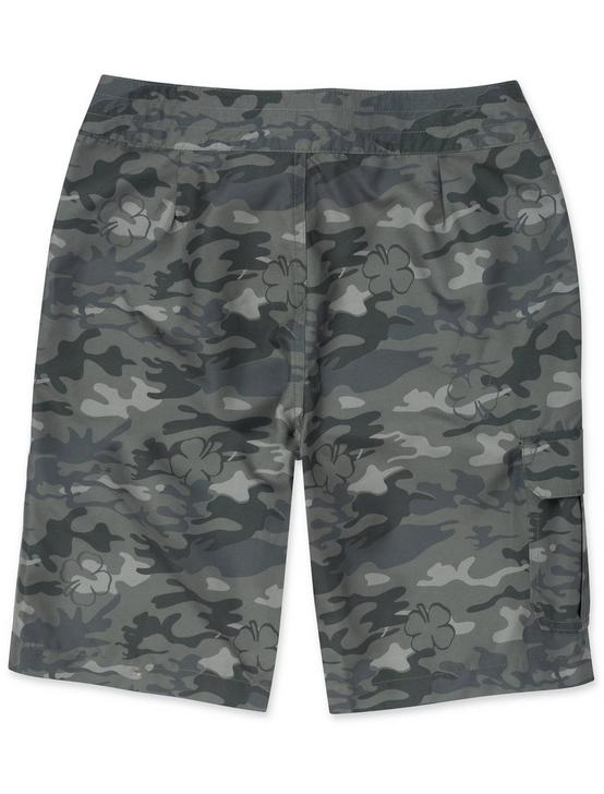 BOYS 8-16 CAMO BOARDSHORTS, DARK GREEN, productTileDesktop