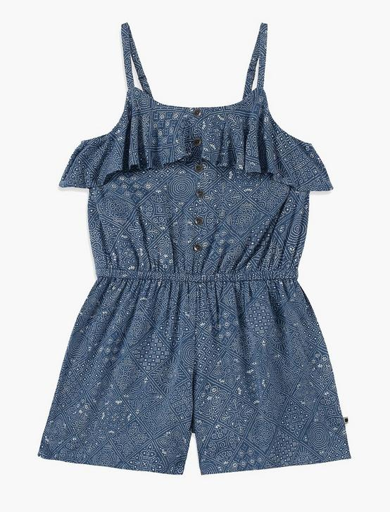 GIRLS S-XL LORIANN ROMPER, CARIBEAN, productTileDesktop
