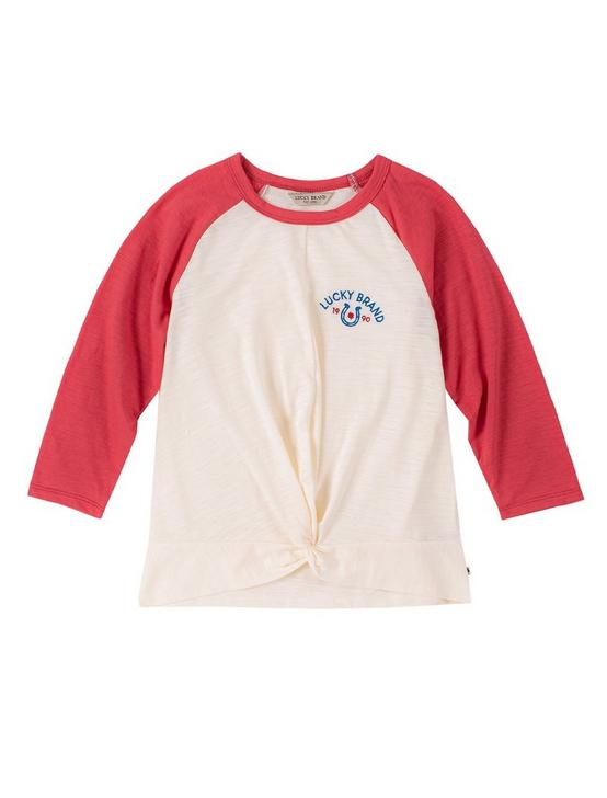 GIRLS S-XL BELINDA TOP, PEARL, productTileDesktop