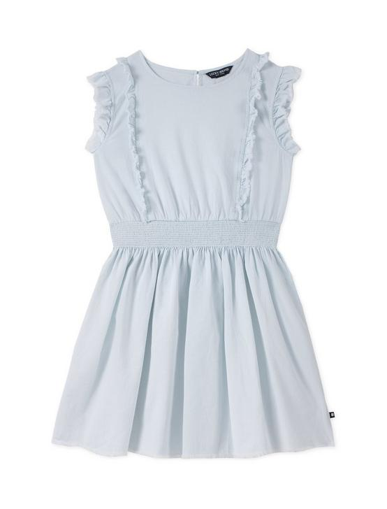 LITTLE GIRLS 5-6X SHILOH DRESS, NAVY, productTileDesktop