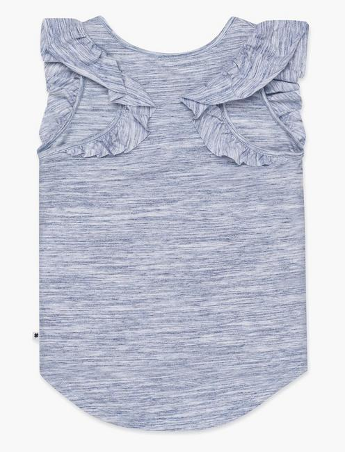 GIRLS S-XL ELICIA TANK, OPEN BLUE/TURQUOISE