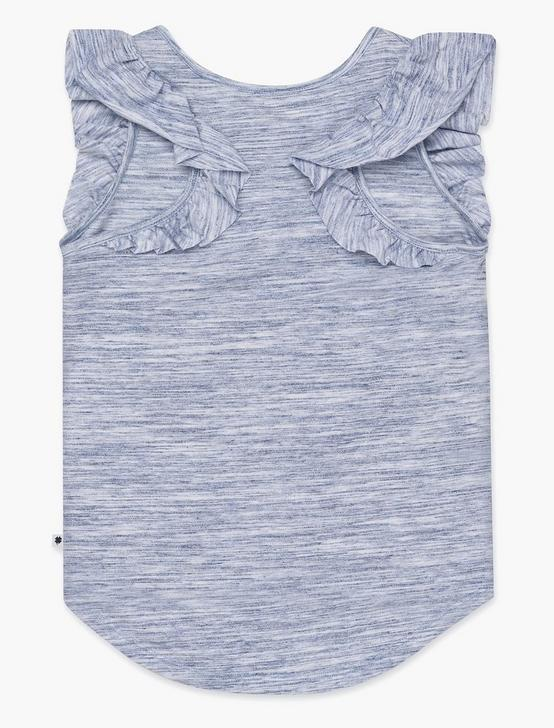 GIRLS S-XL ELICIA TANK, OPEN BLUE/TURQUOISE, productTileDesktop
