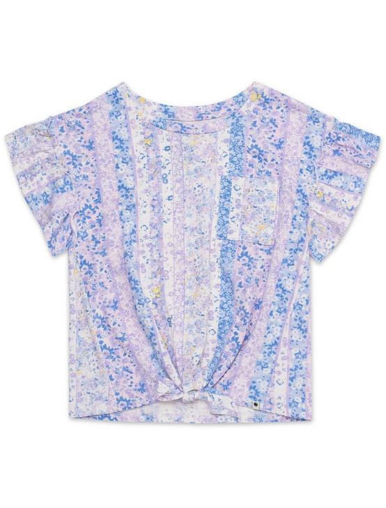 LITTLE GIRLS 5-6X AUBREY TEE, PEARL, productTileDesktop