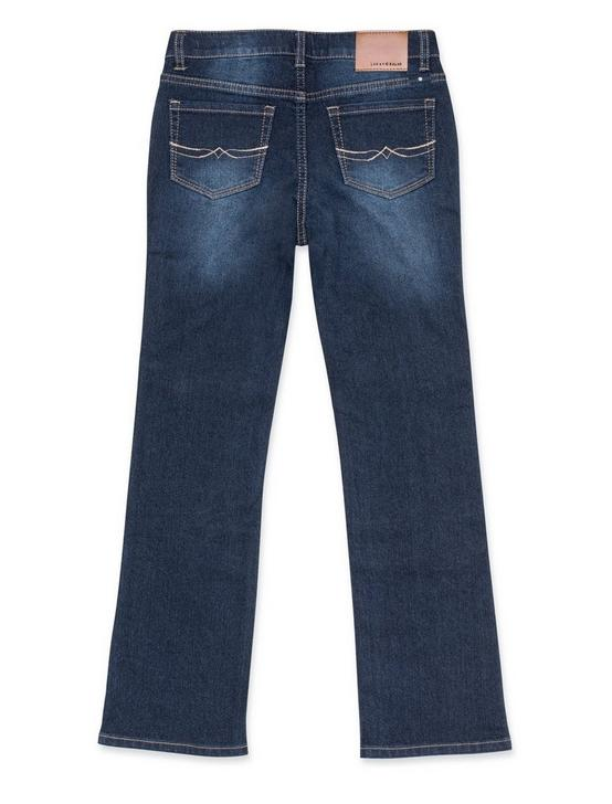 GIRLS 7-16 DEANDRA BOOTCUT JEANS, LIGHT BLUE, productTileDesktop