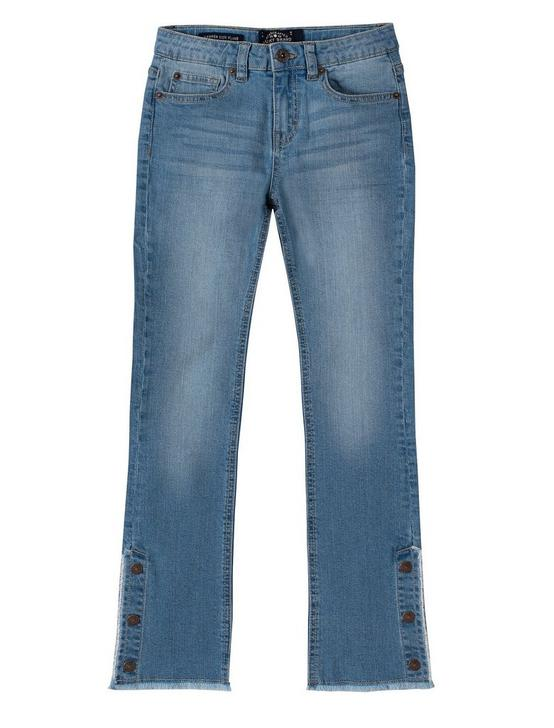 GIRLS 7-16 ROXY FLARE JEAN, LIGHT BLUE, productTileDesktop