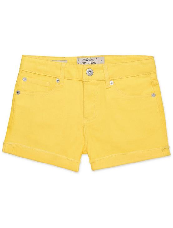 LITTLE GIRLS 5-6X JENNA SHORT, OPEN YELLOW/GOLD, productTileDesktop