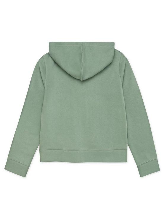 GIRLS S-XL JULIAN HOODIE, DARK GREEN, productTileDesktop
