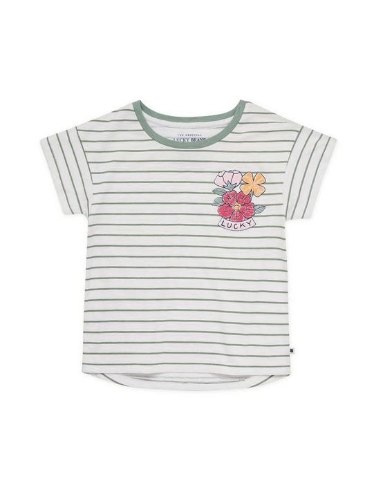 GIRLS S-XL RAISA TEE, PEARL, productTileDesktop