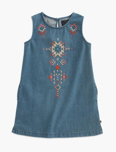 CALI DRESS, LIGHT BLUE