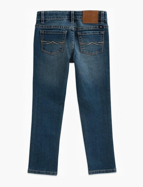 LITTLE GIRLS 2T-6X ZOE JEANS, LIGHT BLUE