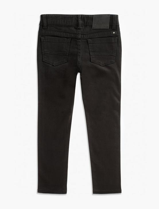 GIRLS ZOE TWILL PANT, BLACK, productTileDesktop