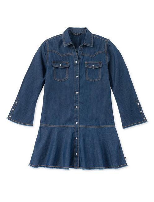 GIRLS S-XL RAE DENIM DRESS,