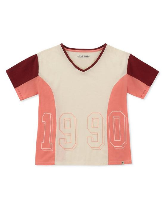 GIRLS S-XL ESTELLA TEE, PEARL, productTileDesktop
