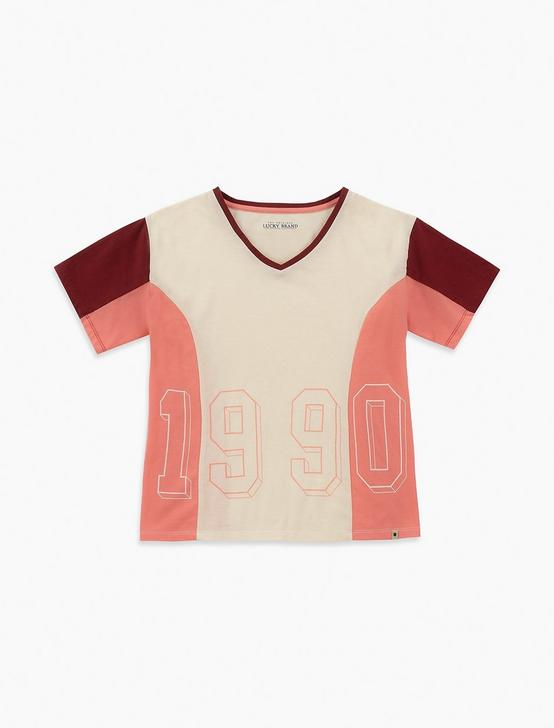 LITTLE GIRLS 5-6X ESTELLA TEE, PEARL, productTileDesktop