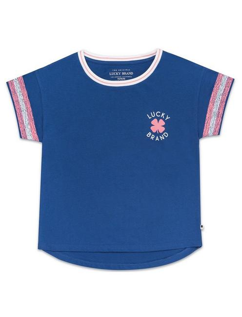 Lucky Little Girls 5-6x Gitana Tee