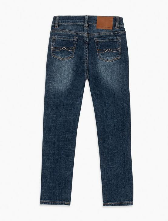 LITTLE GIRLS 2T-6X GISELLE JEANS, STONE BLUE, productTileDesktop