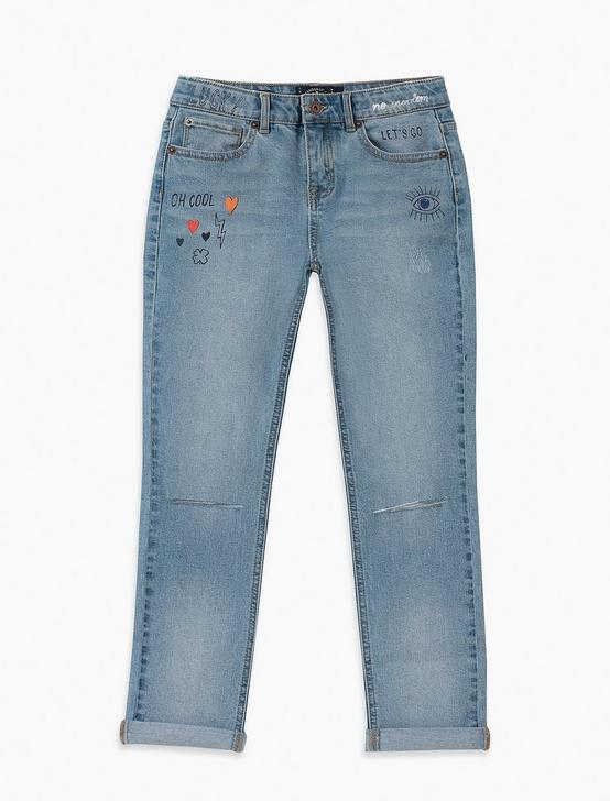 LITTLE GIRLS 5-6X MARLIN JEAN, NAVY, productTileDesktop