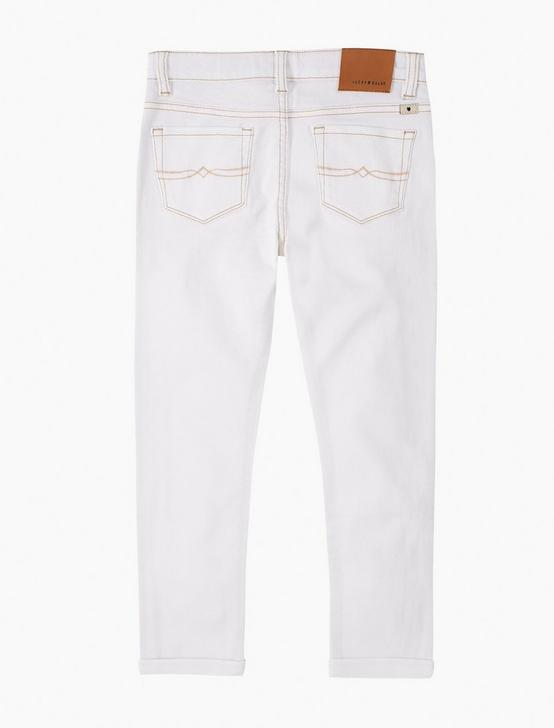 GIRLS 7-16 JULIANNA CUFFED JEAN, NATURAL, productTileDesktop