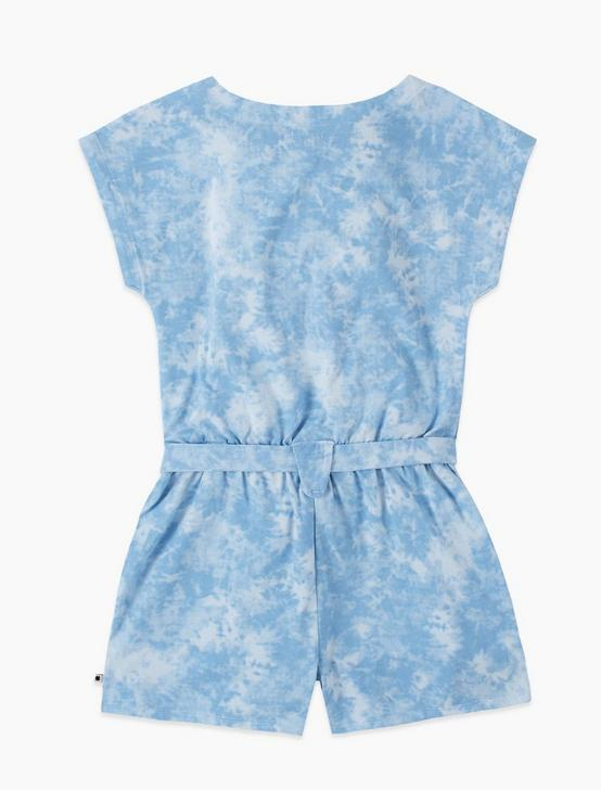 GIRLS S-XL MEADOW ROMPER, OPEN BLUE/TURQUOISE, productTileDesktop