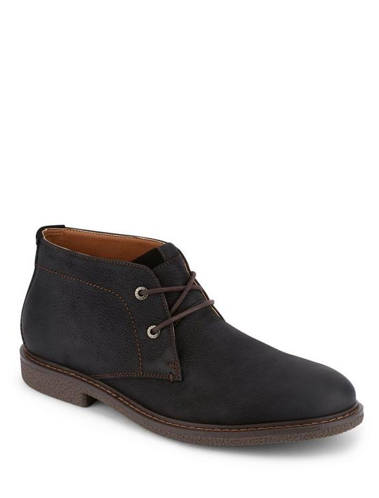 BOONE CHUKKA BOOT, BLACK, productTileDesktop