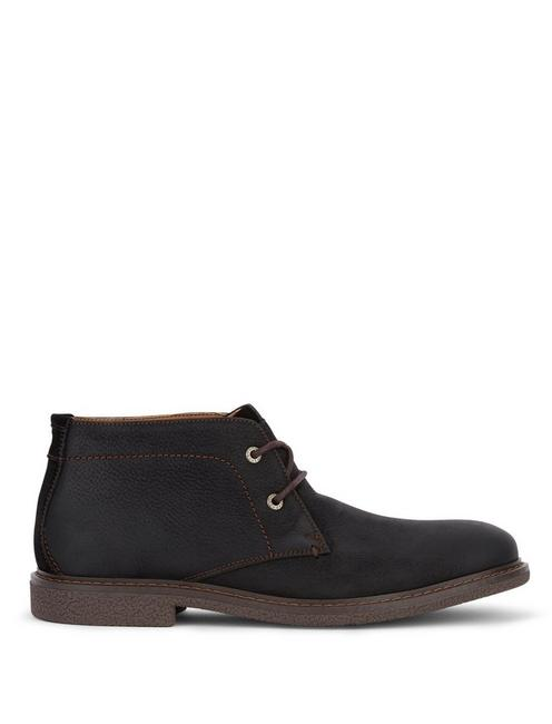 BOONE CHUKKA BOOT, BLACK