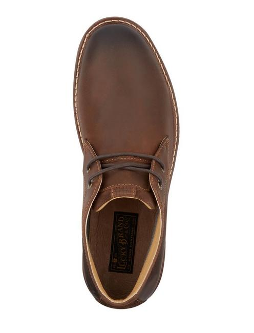 BOONE CHUKKA BOOT, DARK BROWN