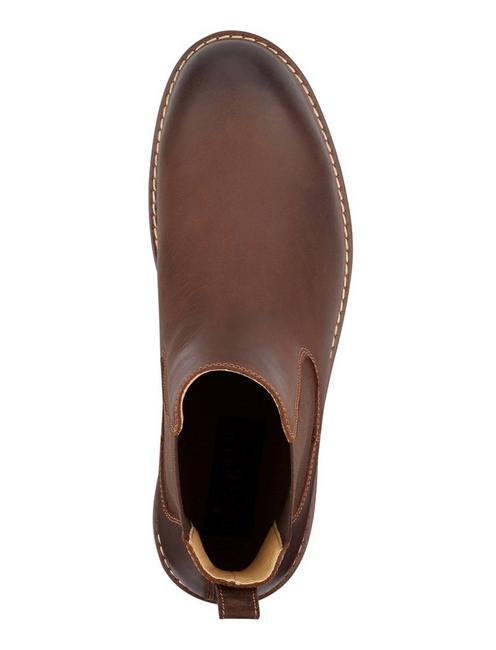BRENTWOOD CHELSEA BOOT, MEDIUM BROWN