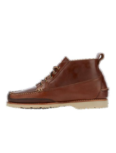 HODGE LEATHER LACE UP BOOTS,
