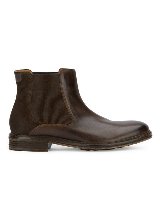 HUTCHINS CHELSEA BOOT, DARK BROWN, productTileDesktop