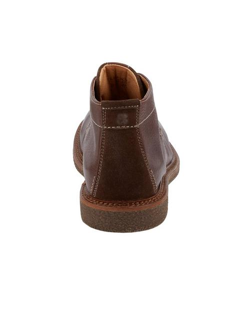 MASON CHUKKA BOOT, DARK BROWN