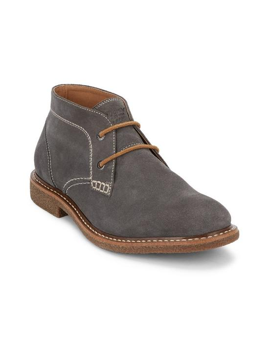 MASON CHUKKA LEATHER BOOTS, DARK GREY, productTileDesktop
