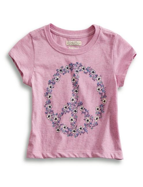 FLORAL PEACE TEE,