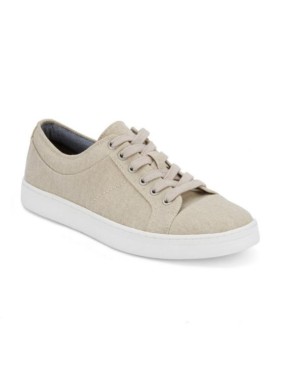 SPENCE LACE UP SNEAKER, NATURAL, productTileDesktop