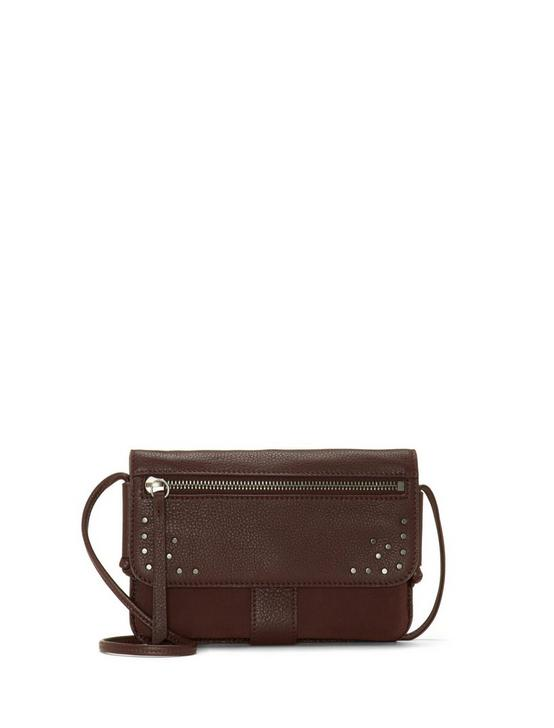 LORE CONVERTIBLE WALLET, DARK BROWN, productTileDesktop