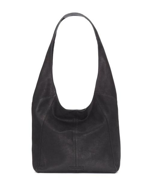 PATTI LEATHER SHOULDER BAG, FEATHER