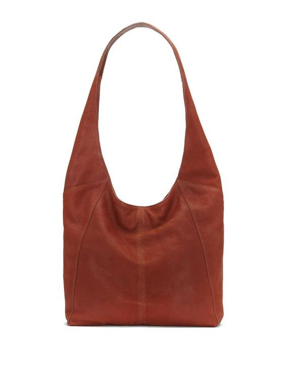 PATTI SHOULDER BAG, OPEN BROWN/RUST, productTileDesktop