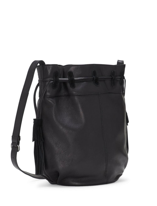 SEREN LEATHER BUCKET BAG, image 1