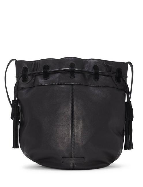 SEREN BUCKET BAG, BLACK