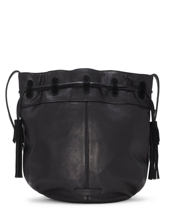 SEREN LEATHER BUCKET BAG, image 3