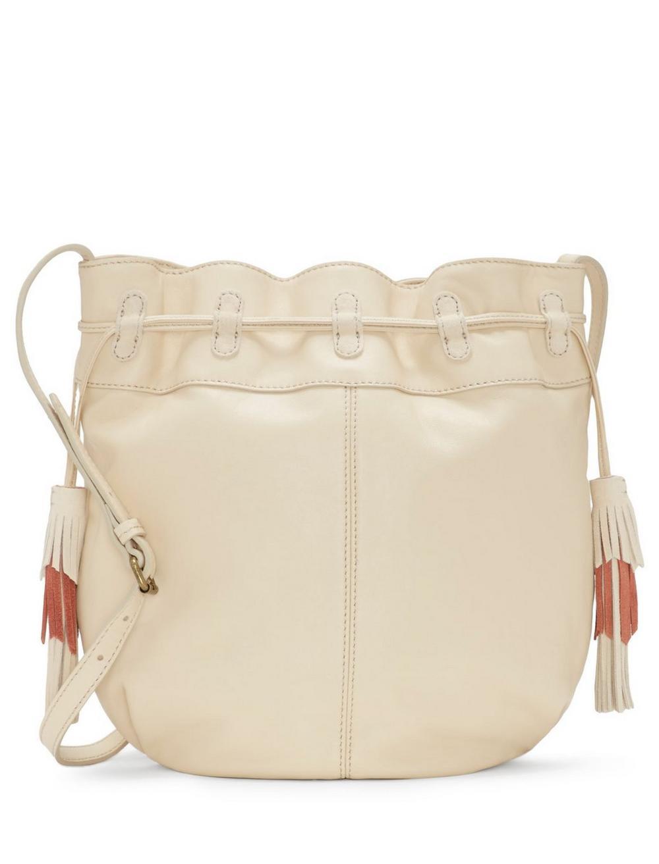 SEREN LEATHER BUCKET BAG, image 2