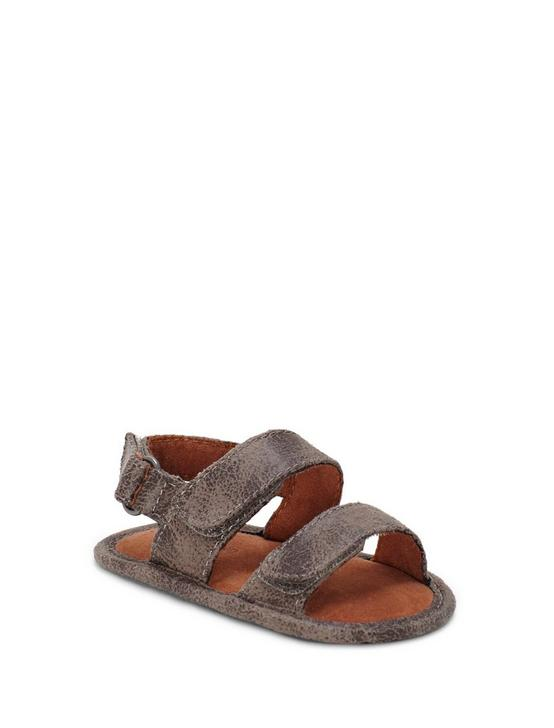 BABY 1-4 INFANT CARDAR SANDAL, OPEN BROWN/RUST, productTileDesktop
