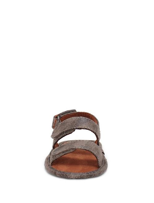 BABY 1-4 INFANT CARDAR SANDAL, OPEN BROWN/RUST