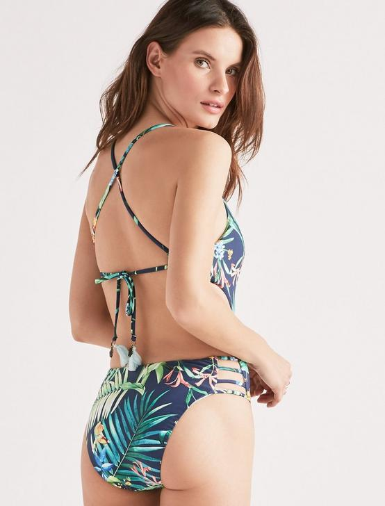 LUSH LEAF ONE PIECE, DARK BLUE, productTileDesktop